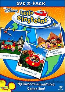 Disney-Little-Einsteins-3-Pack-DVD-Box-Firebird-Rescue-Race-Space-Gold-Pyramid