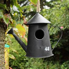 Neu Gießkanne Wandbehang Garten Vogelhaus Eier- Schachteln Box Baum Dekoration