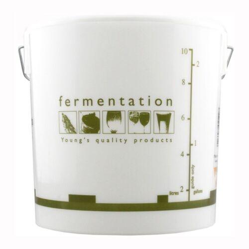 10 Litre Home Brewing Plastic Fermentation Vessel Bucket With Lid Brew Equipment