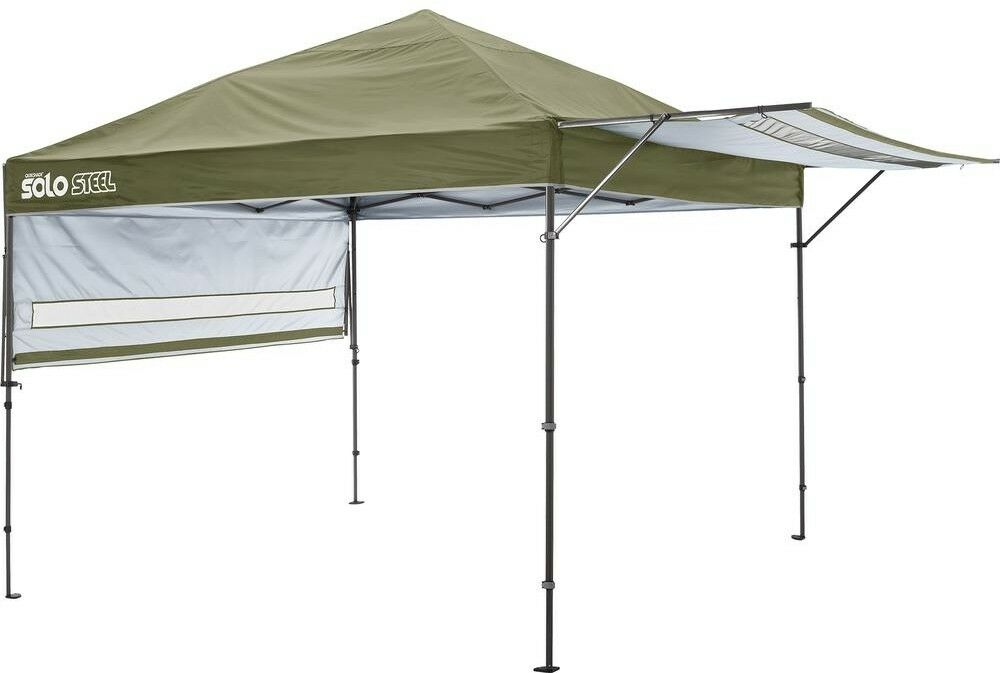 Quik Shade Portable Canopy  Telescoping Straight Leg 10 x 17 Olive Outdoor New  top brands sell cheap