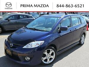 2010 Mazda 5 GT LEATHER, 17 INCH ALLOY, YOU CERTIFY YOU SAVE