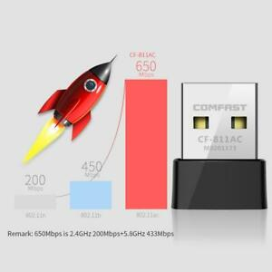 COMFAST-650Mbps-Wifi-Wireless-USB-2-0-Adapter-2-4-5-8GHz-PC-Network-Card-Dongle