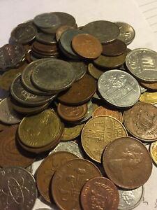 Huge-Mixed-Bulk-Lot-of-100-Assorted-World-International-Coins-Neat-Group