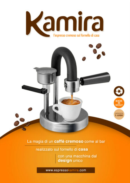 KAMIRA, A REVOLUZIONARY WAY TO MAKE A TASTY ESPRESSO..!!
