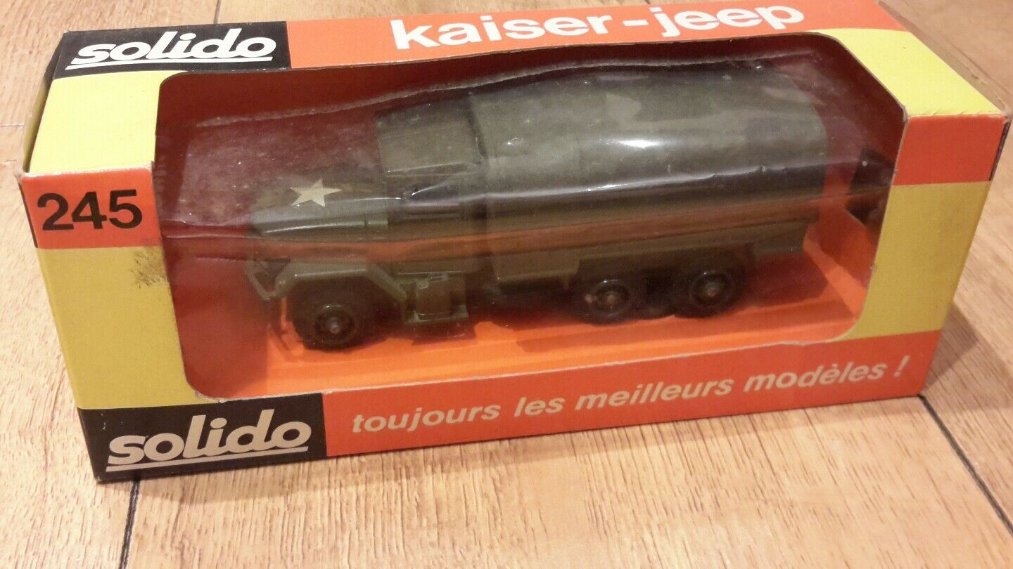 Solido Military Army 1 50 - Kaiser Jeep Covered No.245