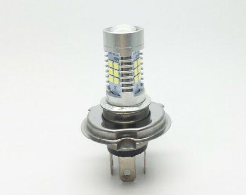 1 Lampara Bombillas H4  2835 21SMD 21W Luz Blanca Pura Coche DC 12V LED