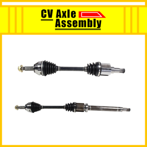 Front Pair CV Axle 2 PCS For 2010-2013 FORD TRANSIT CONNECT 2010 2011 2012 2013
