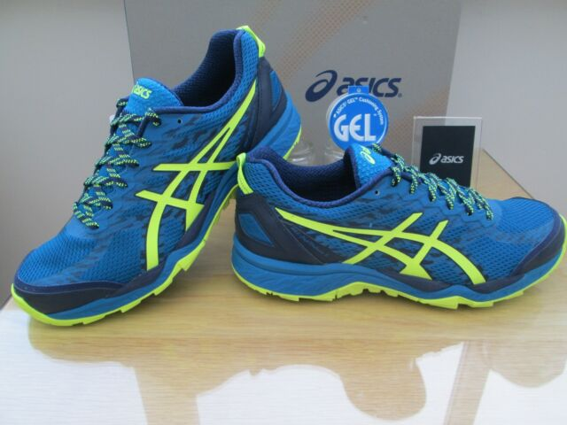 Asics Gel Outdoors Shoes Blue Running Mens Fujitrabuco 5 Trail AABTRraqw