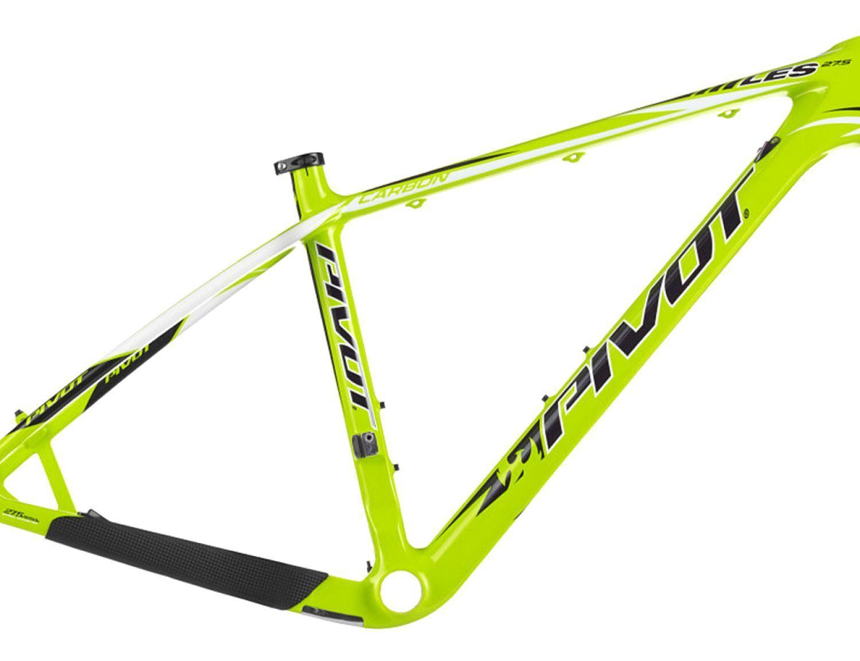Pivot Cycles - Telaio originale Pivot LES 27.5 Carbonio Carbon Neon Lime Media M