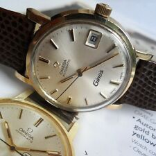 Clean Vintage 1971 Men's Omega 17J Cal. 563 Automatic 10k Gold Filled Watch Runs