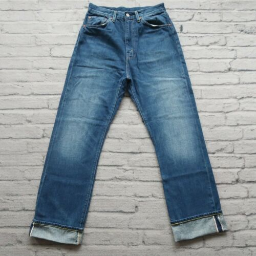 LVC Levis 701 Big E Distressed Selvedge Denim Jean