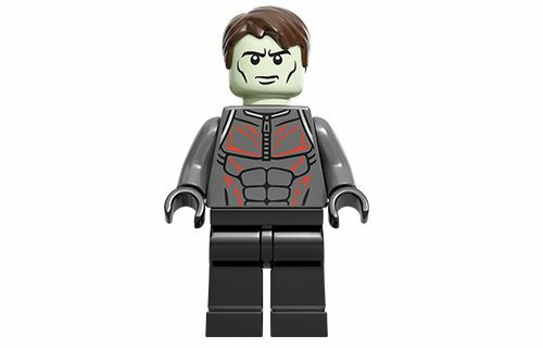 100/% LEGO Extremis Soldier Marvel Superheroes Iron Man Villain 76007 Minifigure