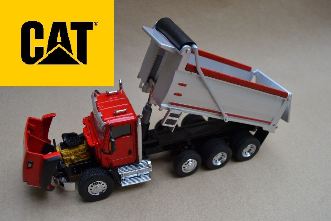 NORSCOT 1 50 CATERPILLAR CAMION CAT CT660 DUMPER Rouge ref 55502