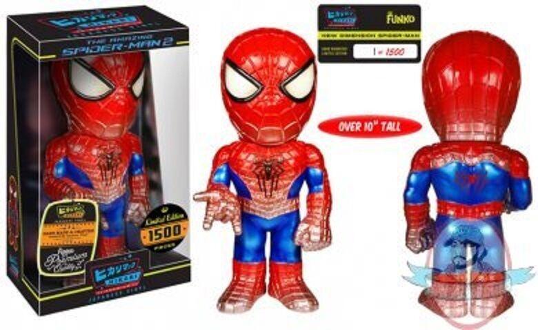 Marvel - neue dimension  spider - man  hikari premium sofubi abbildung