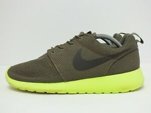 5ebc91f7cef5 Nike Roshe Run Men sRunning Shoes Tarp Green Dp Smoke-Voltage Size ...
