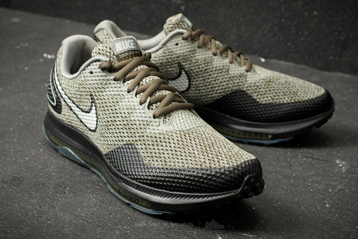 1c3bea212f3 Nike Zoom All Low 2 AJ0035 300 Cargo Khaki Men's Running shoes SIZE 13 Out  nsvqgv10585-Athletic Shoes