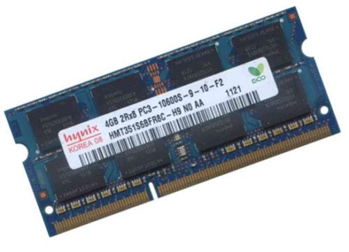 1 von 1 - 4GB HYNIX DDR3 SO DIMM RAM 1333Mhz HMT351S6BFR8C-H9 PC3-10600S Notebook Speicher