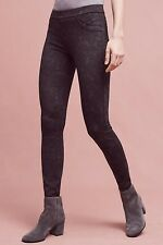 NEW Anthropologie $88 Grey Motif Printed Gilla Legging Sanctuary XS