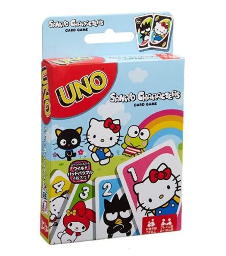 Uno  Sanrio Characters Card game