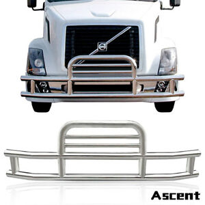 Details about Deer Guard Front Grille Grill Bumper Protector For  Freightliner Cascadia 08-17