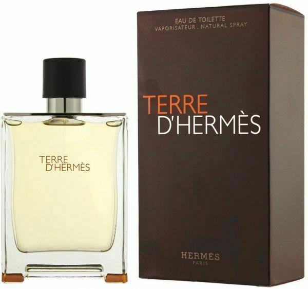HERMES Terre D'Hermes 3.3 Oz Eau De Toilette Spray para hombres 100ml