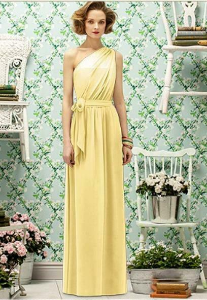 Lela Rose Bridesmaid Dress LR 188.....Buttercup....Size 8 NWT