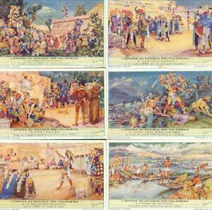 LIEBIG : S_1490 : 'Epopée du Mexique Pré-Colombien (l')