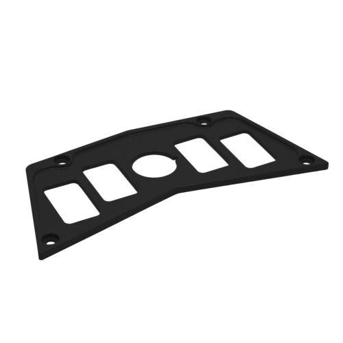STV Motorsports Polaris RZR Aluminum Black Dash Panel 800S 900xp