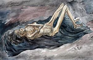 File:Dying from Starvation and Torture at Belsen