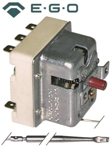 EGO 55.32552.808 Sicherheitsthermostat für Silko CGE9020-0, CGE9042-5 3-polig