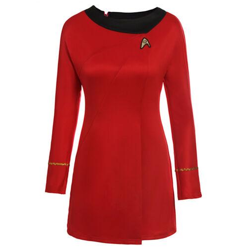 Star Trek Dress Uniform Costume Adult TOS Original Series Classic Fancy Dress