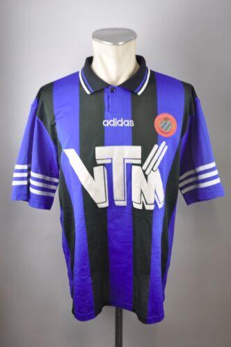 Belgische Vereine L Adidas Jersey 1995/1996 Home 90er vintage VTM Club Brugge Trikot Gr Fußball