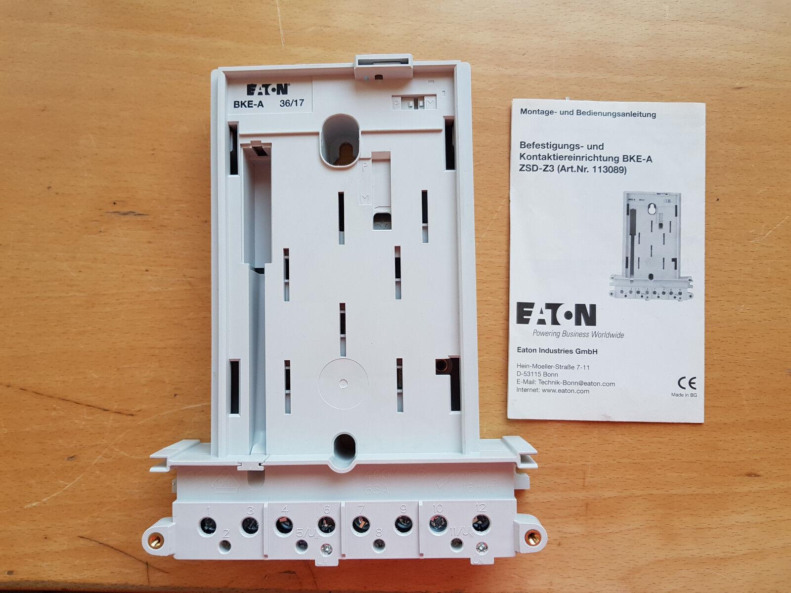 Eaton   Möller eHZ-Adapter ZSD-Z3 | Praktisch Und Wirtschaftlich