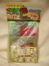 Vintage Toy Train Building Western Sheriff's Office & Jail HO scale Not Opened