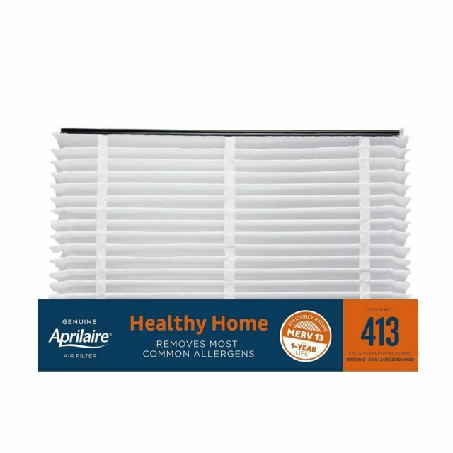Aprilaire 413 Filter 2410 4400 Replacement Media Pleated Generic Merv 13 1 Pack