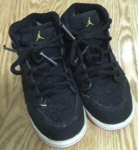 cheaper af1c1 b9674 Details about Nike Jordan Girls Desert Black Pink 364773-008 Size 10C Shoes  Sneakers EUC!