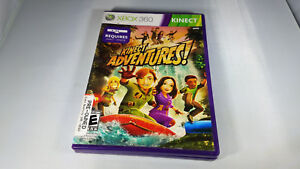 Details about KINECT ADVENTURES Microsoft Xbox 360 game cartridge 1 one pro  2010 disc complete