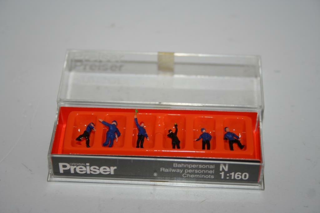 N 1:160 Preiser 79096 Gleisbauarbeiter OVP Figuren