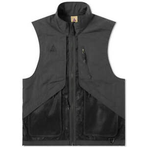 Nike-ACG-Vest-BQ3619-010-Black-Urban-Utility-NEW-WITH-TAGS-SALE