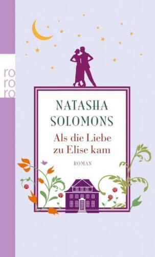1 von 1 - Als die Liebe zu Elise kam von Natasha Solomons, UNGELESEN