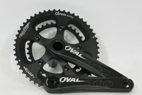 Oval Concepts 700 mid compact crank Praxis rings 52//36 10//11 speed 110bcd 175mm