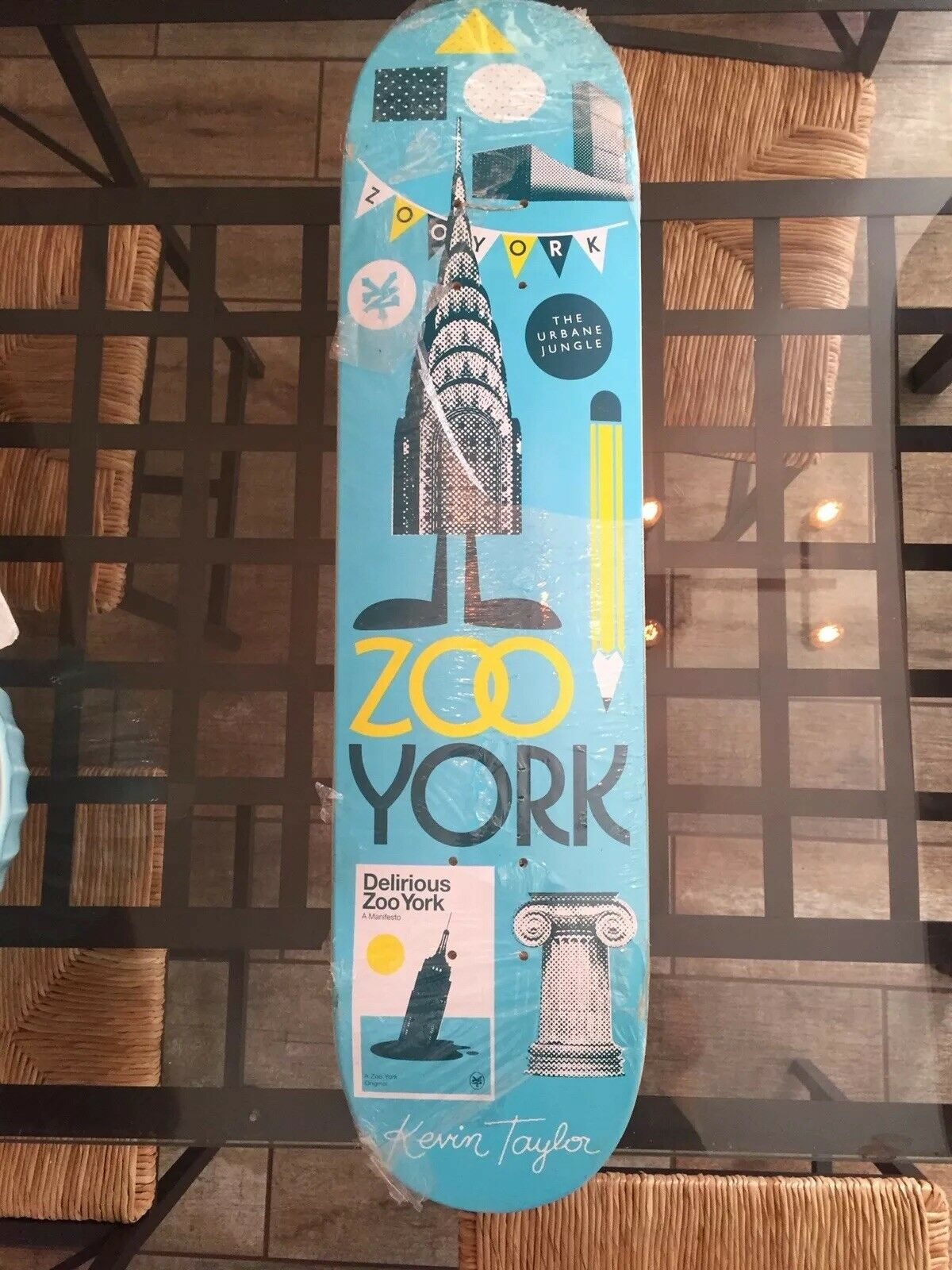 Zoo York, Kevin  Taylor collectors board. Brand New.  the newest brands outlet online