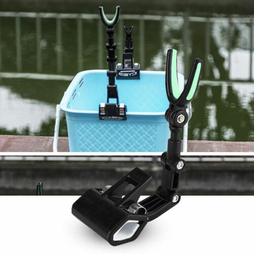 Robinson Bootsrutenhalter I variable verstellbar Angelrutenhalter Rutenhalter