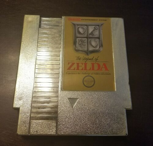 1 of 1 - The Legend of Zelda (NES Nintendo Entertainment System, 1987) Gold Cartridge!