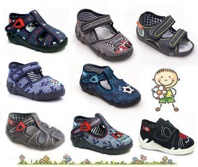 Responsabile Baby Boys Canvas Scarpe / Toddler Sandali Pantofole Scarpe Da Ginnastica Tutti Uk Taglie Kids-