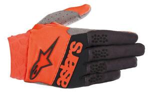 ALPINESTARS-GUANTO-RACEFEND-Arancione-Nero-motocross-enduro-quad-mtb