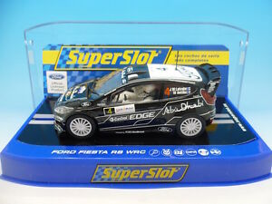Superslot Scalextric H3399 Ford Fiesta Rs Wrc Abu Dhabi - Rare
