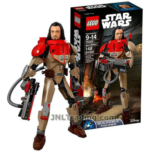 NEW 2017 LEGO LEGO LEGO Star Wars Rogue One Series Figure 75525  BAZE MALBUS 148 Pcs. 6092ce