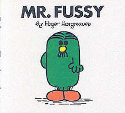 """""""AS NEW"""" Mr. Fussy (Mr. Men Library), Hargreaves, Roger, Book"""