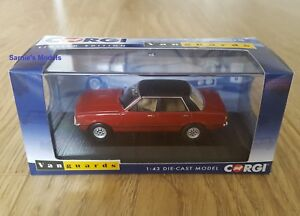 Corgi-Vanguards-Ford-Cortina-MKIV-2-0-Ghia-Jupiter-Rouge-Ltd-Ed-2000-1-43-NEUF